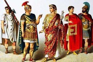 Vì sao người La Mã cổ đại không bao giờ mặc quần?