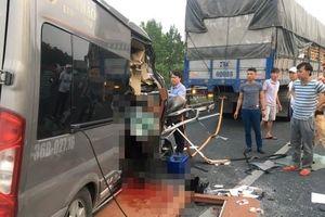 Xe công ty Lý Thảo tai nạn trên cao tốc Pháp Vân từng đâm chết người