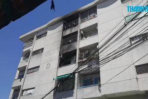 Cháy 3 căn hộ chung cư, nhiều người hoảng hốt tháo chạy