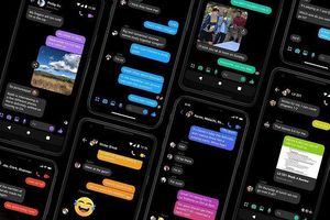 Dark Mode đang sử dụng trên Facebook Messenger chỉ là tạm thời