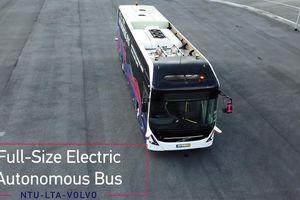Ngắm mẫu xe buýt không người lái cỡ lớn mà Singapore sắp áp dụng