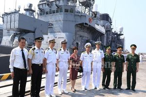 Tàu hải quân Nhật Bản cập cảng Tiên Sa thăm Việt Nam