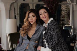 Hoa hậu Điện ảnh 1992 Thanh Xuân tái xuất bên con gái sau nhiều năm vắng bóng