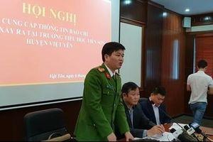 Không có chứng cứ thầy giáo dâm ô học sinh ở Bắc Giang