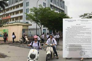 Thầy giáo nhắn tin 'gạ tình' nữ sinh cấp 3 ở Thái Bình viết gì trong bản tường trình?