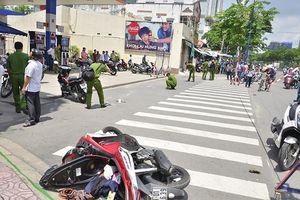 Đến giúp bạn gái 'giải quyết' mâu thuẫn, nam thanh niên bị chém trọng thương ở Sài Gòn