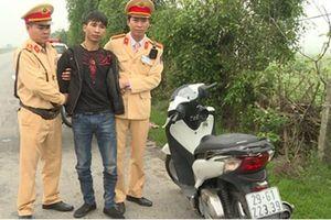 Bắt đối tượng trộm xe máy ở Hà Nội mang về Thái Bình tiêu thụ