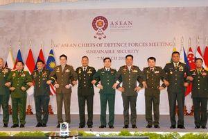 Hội nghị Tư lệnh Lực lượng Quốc phòng ASEAN tại Thái-lan