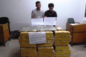 Bắt vụ vận chuyển 600.000 viên ma túy tổng hợp và 36 bánh heroin