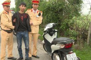 Thái Bình: CSGT kịp thời bắt giữ một đối tượng trộm cắp chuyên nghiệp sau khi nhận được tin báo