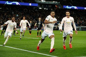 Lật ngược tình thế ngoạn mục trên sân PSG, M.U vào tứ kết Champions League
