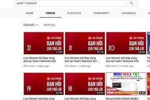 Vốn hóa Yeah1 mất 2.000 tỉ đồng khi YouTube tuyên bố ngưng hợp tác