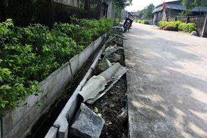Lộc Hà - Hà Tĩnh: Mập mờ hồ sơ xây dựng giao thông nông thôn xã