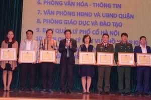 Quận Hoàn Kiếm: Khen thưởng nhiều tập thể có thành tích trong công tác phục vụ Hội nghị thượng đỉnh Mỹ - Triều