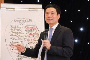 Bộ trưởng Nguyễn Mạnh Hùng: 'Phải nghĩ lớn để Việt Nam trở thành cường quốc'