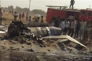 MiG-21 Ấn Độ rơi chưa rõ nguyên nhân gần Pakistan