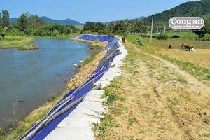Bờ sông La Tinh sạt lở nghiêm trọng