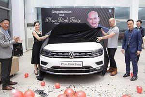Phan Đình Tùng tậu Volkswagen Tiguan Allspace hơn 1,7 tỷ