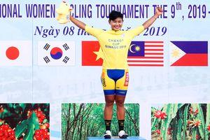 Cua-rơ Thái Lan thắng áp đảo tại giải xe đạp nữ quốc tế Bình Dương
