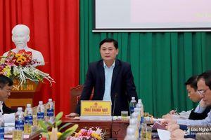 Chủ tịch UBND tỉnh: Tại sao Đô Lương phát triển nhưng không có đột phá?