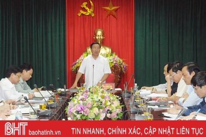 Nhanh chóng kiện toàn bộ máy Đảng bộ Khối CCQ và DN Hà Tĩnh