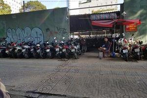 TP.HCM: Các bãi giữ xe trên địa bàn quận 1 ngang nhiên thu giá trên trời
