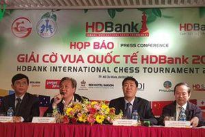 Hơn 300 kỳ thủ tham dự Giải Cờ vua quốc tế HDBank 2019