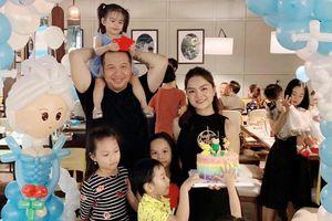 Phạm Quỳnh Anh và Quang Huy bên nhau mừng sinh nhật con sau ly hôn