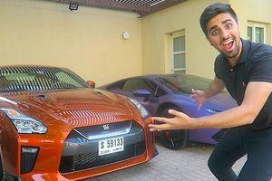'Richkid' Dubai sở hữu dàn siêu xe, quà cho mẹ và em cũng là xe sang