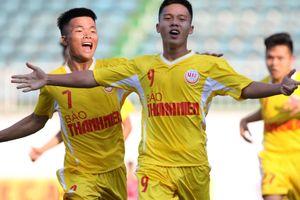 VCK U.19 Quốc gia 2019, Bình Dương 1-2 SLNA: Cú nước rút như Gareth Bale của Trần Quốc Thành