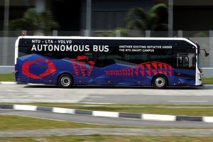 Volvo thử xe buýt điện tự lái cỡ lớn đầu tiên trên thế giới