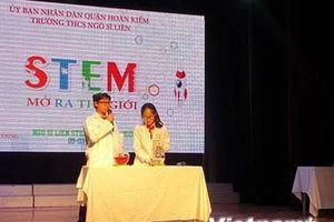 Hà Nội: Sôi động tại ngày hội STEM với chủ đề mở ra thế giới