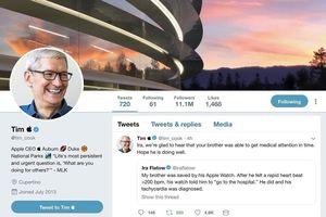 CEO Apple Tim Cook chính thức đổi tên thành 'Tim Apple' trên Twitter