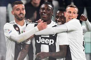 Ronaldo vắng mặt, sao trẻ '10x' giúp Juventus thắng trận
