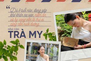 Cô gái khuyết tật giàu nghị lực Trần Trà My ra sách 'Tin vào điều tử tế'
