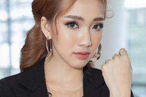 Nhan sắc hot girl 9X Việt đầu tiên ra mắt tại showbiz Hàn