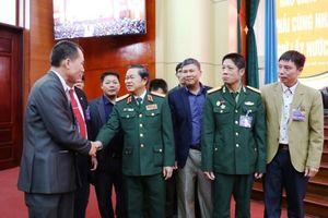 Gặp mặt kỷ niệm 40 năm Ngày thành lập Quân đoàn 29