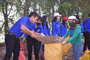 Hàng nghìn bạn trẻ miền Tây tham gia bảo vệ môi trường