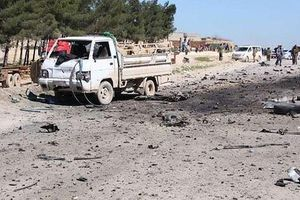 IS đánh bom xe ở thành phố Manbij, tuyên bố 3 lính Mỹ thiệt mạng
