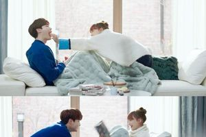 'Phụ lục tình yêu' tập 13: Lee Na Young bị đuổi việc, sống hạnh phúc bên Lee Jong Suk như cặp vợ chồng mới cưới