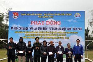 Quảng Ninh: Phát động chiến dịch 'Hãy làm sạch biển'