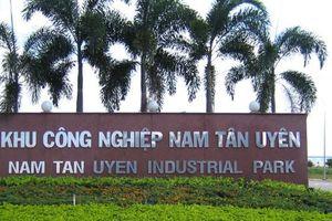 Lãi lớn, Khu công nghiệp Nam Tân Uyên chia cổ tức tỷ lệ 200%