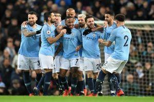 Sterling lập hat-trick, Man City thắng dễ Watford