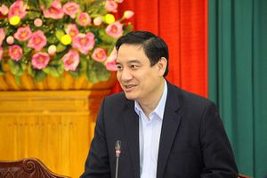 Đồng chí Phạm Minh Chính, Ủy viên Bộ Chính trị, Bí thư Trung ương Đảng, Trưởng Ban Tổ chức Trung ương làm việc tại tỉnh Nghệ An