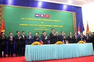 Bế mạc Hội nghị Ủy ban điều phối chung khu vực Campuchia-Lào-Việt Nam lần thứ 12