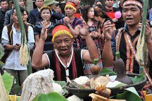 Tái hiện Lễ trỉa hạt của các dân tộc Tây Nguyên