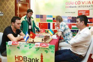 Cao Sang thành công nhất sau ván 7 giải cờ vua HDBank