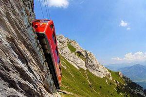 Tuyến đường sắt răng cưa dốc nhất thế giới hoạt động 130 năm ở Thụy Sĩ