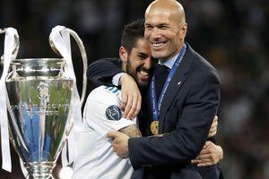 HLV Zinedine Zidane trở lại dẫn dắt Real Madrid
