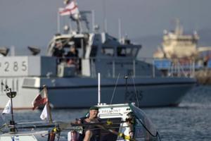 Cựu lính thủy đánh bộ Anh lập kỷ lục Người tàn tật vượt Đại Tây Dương nhanh nhất